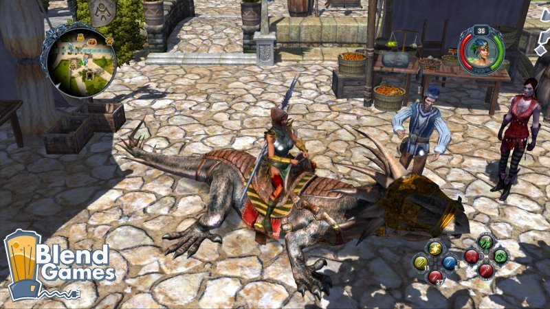 Sacred 2: Fallen Angel, Better Looking On PS3? #5796