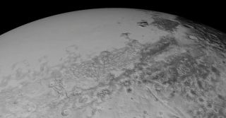 Pluto As Seen by New Horizons, July 14, 2015