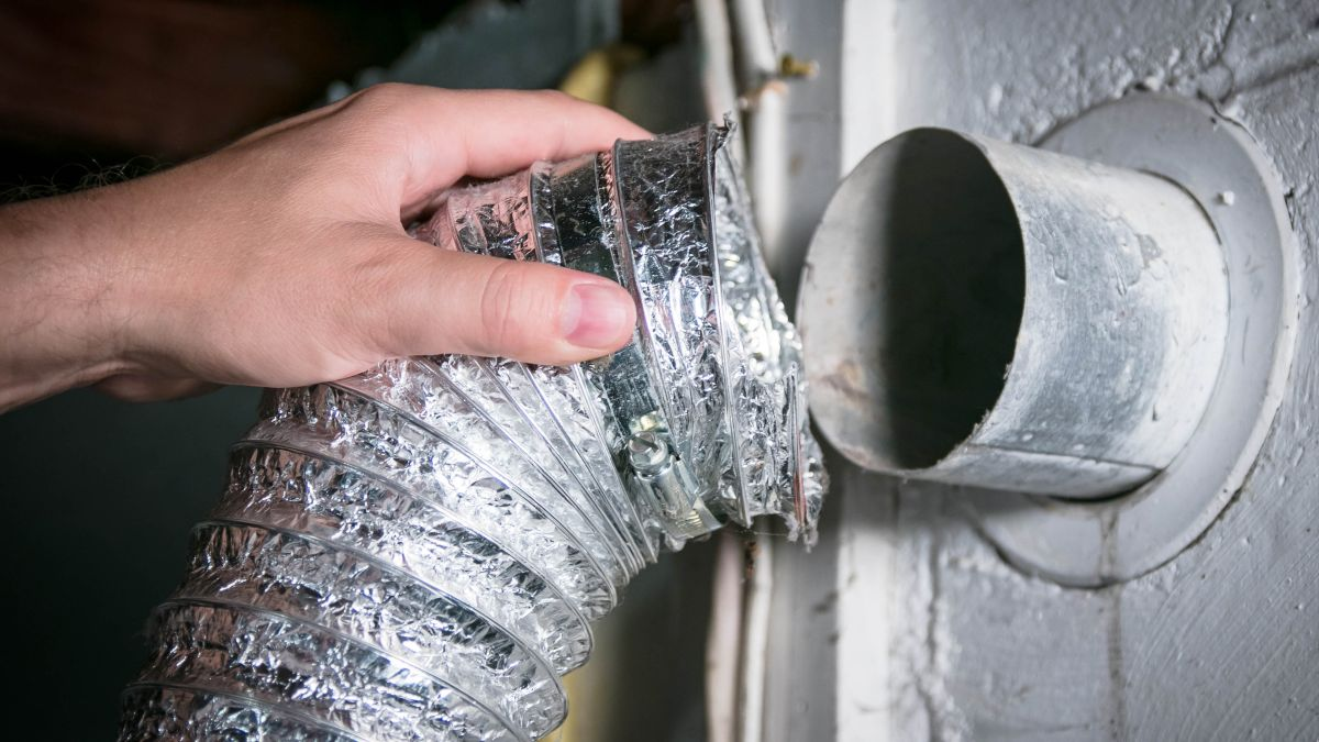How to clean a dryer vent and how often you should do it