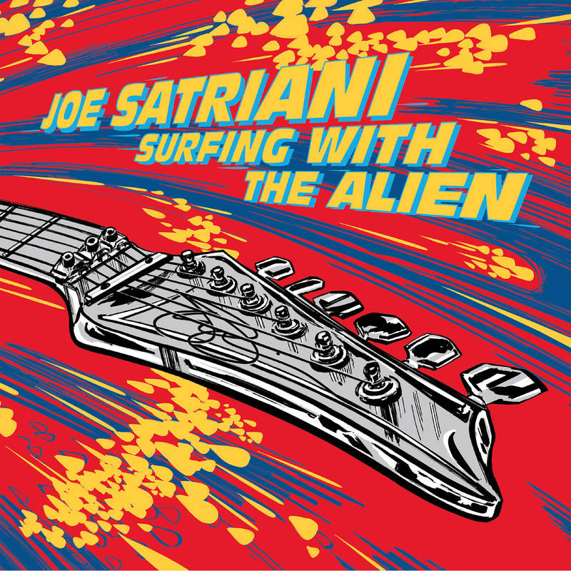 Joe Satriani to release a solo-free Surfing With The Alien for Record Store Day | MusicRadar