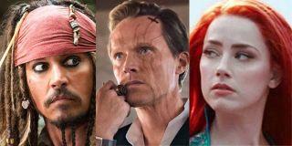 Johnny Depp Paul Bettany Amber Heard