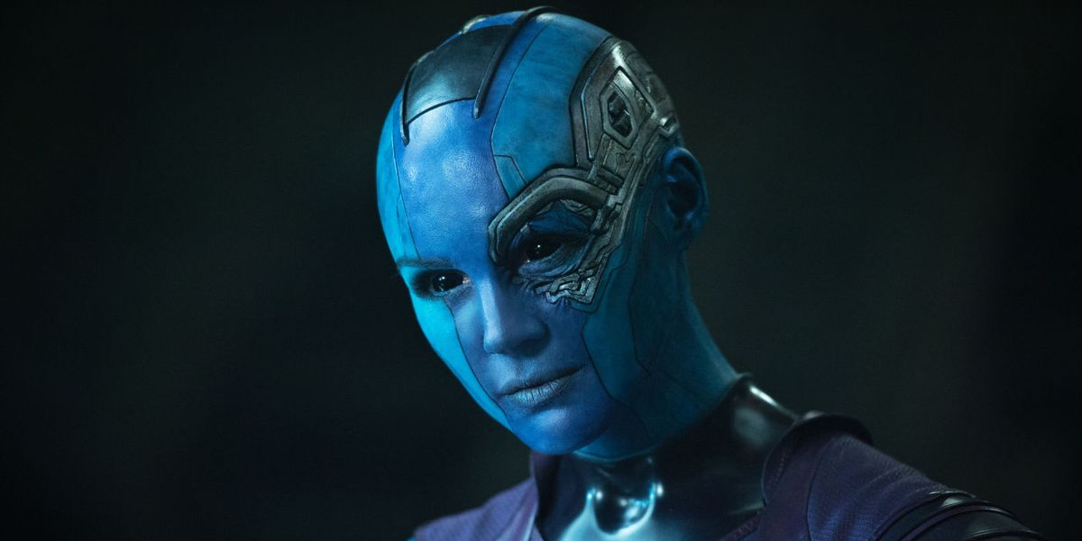 Nebula in the first Guardians movie