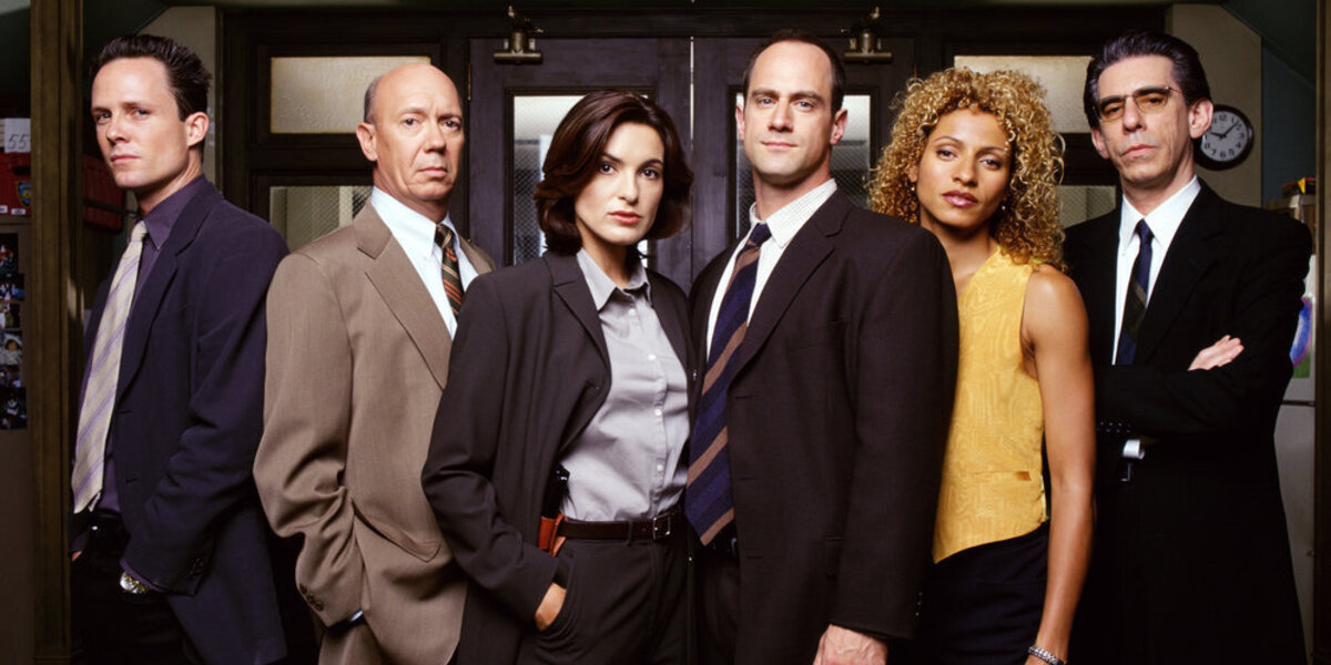 Law & Order SVU Dean Winters Detective Brian Cassidy Dann Florek Captain Donald Cragen Mariska Hargi