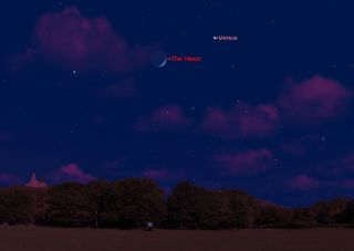 Venus and Western Sky May 21