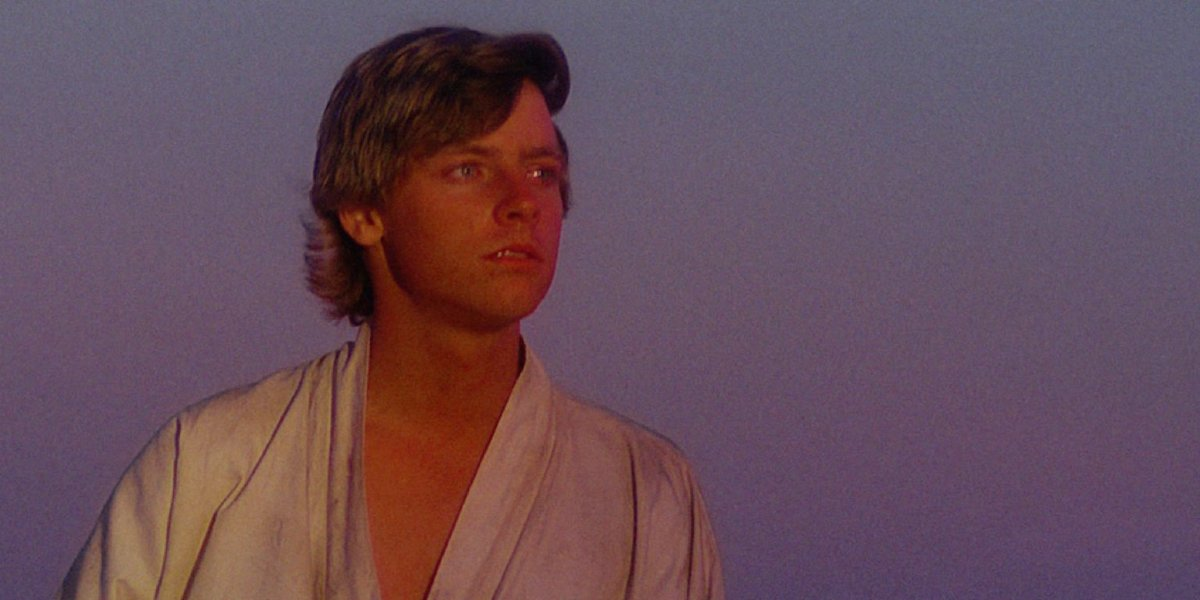 Mark Hamill in Star Wars: A New Hope