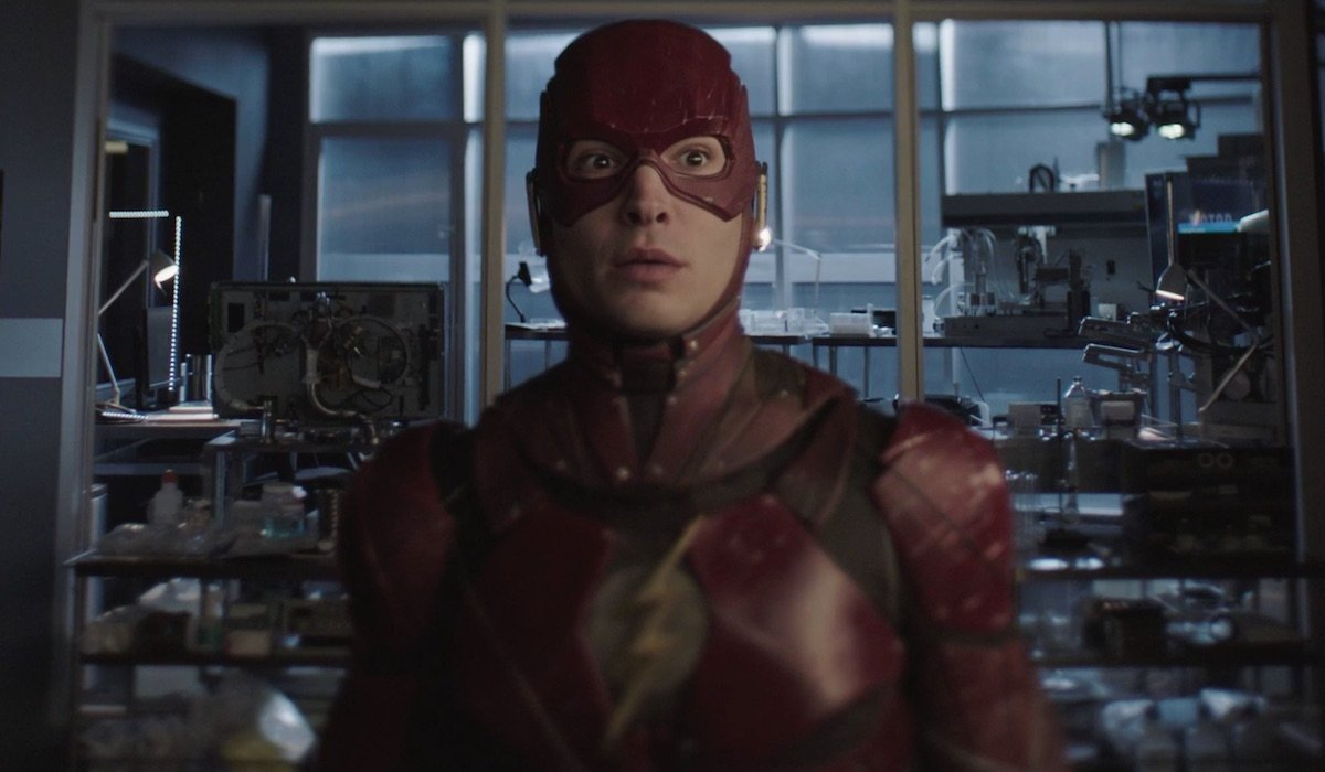 Ezra Miller as The Flash in Crisis on Infinite Earths