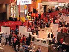 InfoComm Booth is a Hub of Activity