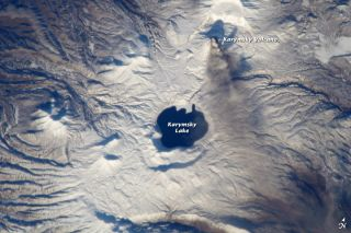 Ashfall from Russia's Karymsky volcano