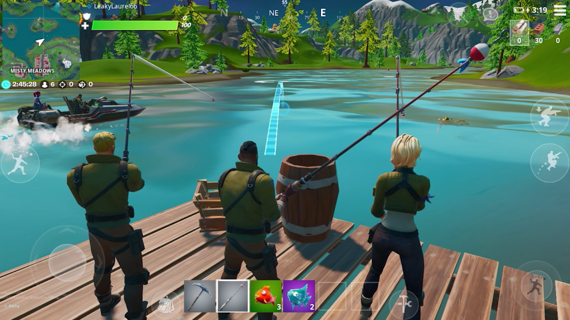 How Long Until Fortnite Mobile Comes Out For Android Fortnite Mobile On Android Comes To Google Play 18 Months Later Gamesradar