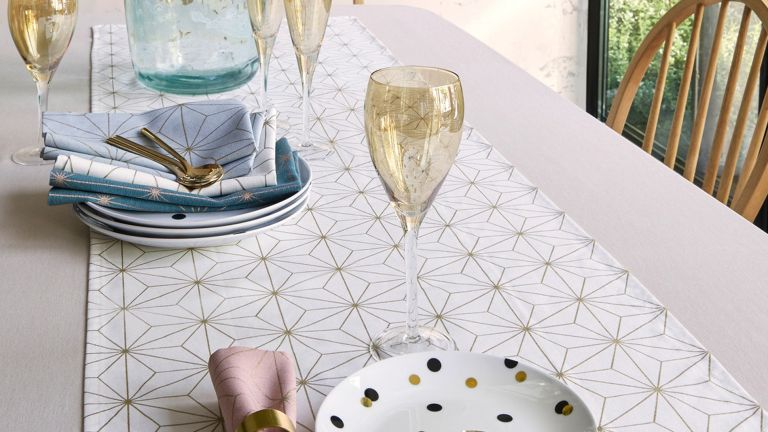 Christmas table runner from La Redoute