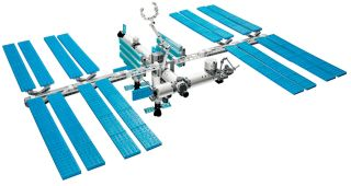 LEGO's version of the International Space Station will be built by astronauts living aboard the real orbiting complex.