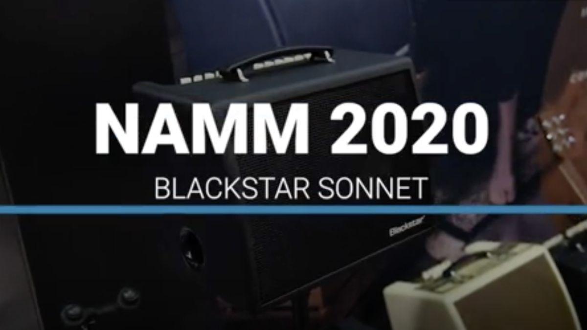 NAMM 2020 VIDEO: Blackstar demos Sonnet acoustic amps