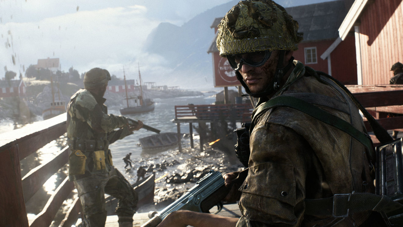 An Image from a Battlefield Game