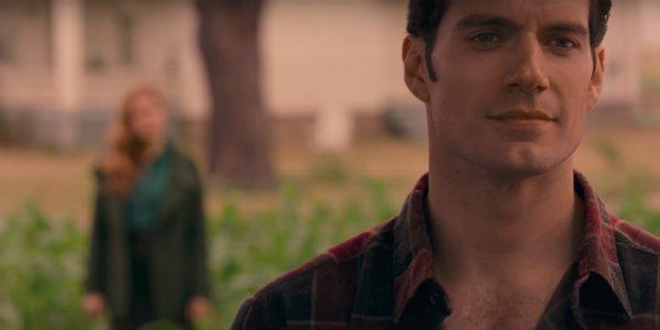 Henry Cavill justice league trailer clark kent superman