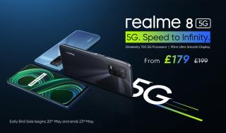 realme 8 5G phone