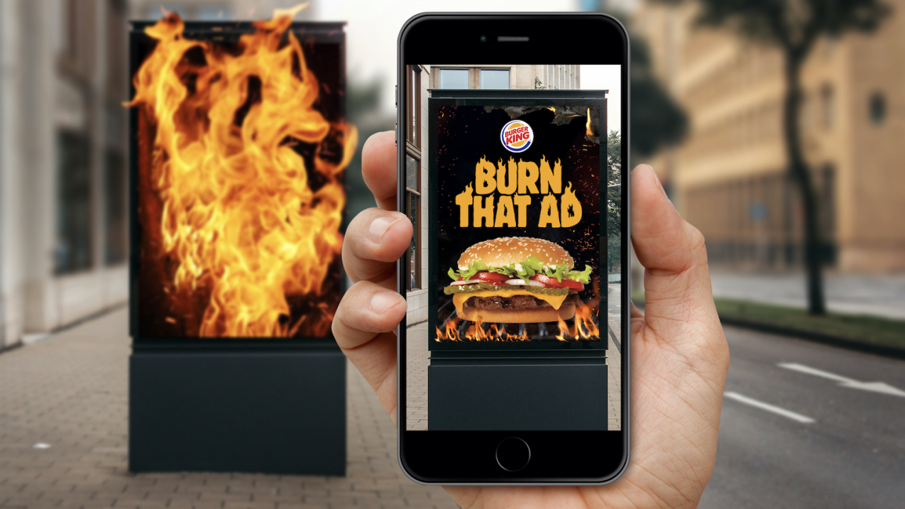 Burger King burns rivals with new promo (again)