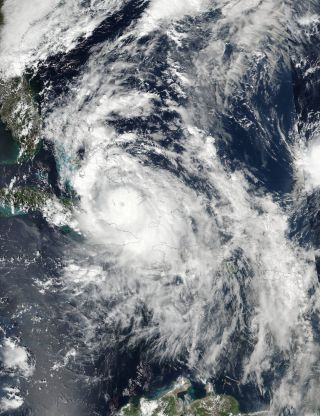 NASA Hurricane Matthew