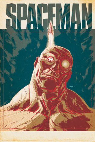 "The new ""Spaceman"" comic by Vertigo features a man genetically engineered to live on Mars."