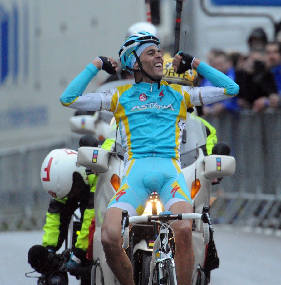 Remy Di Gregorio wins, Paris-Nice 2011, stage seven