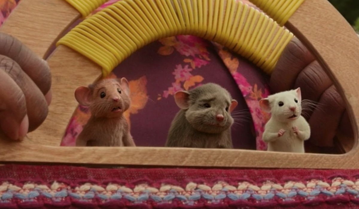 CGI mice in The Witches