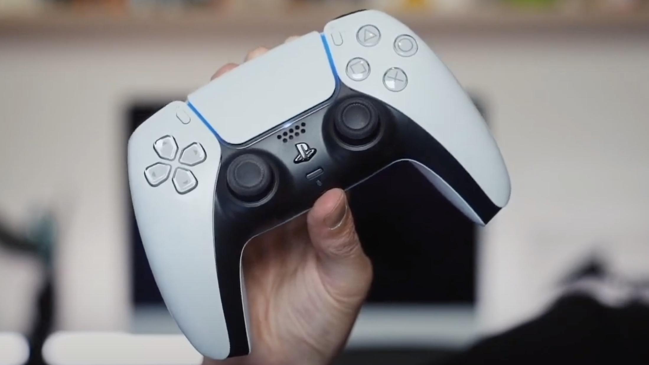 sony playstation 5 dualsense controller 2020 game console next gen