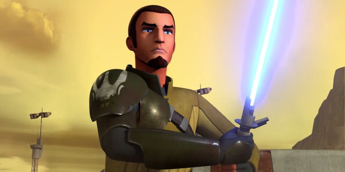 Kanan Jarrus in Star Wars Rebels