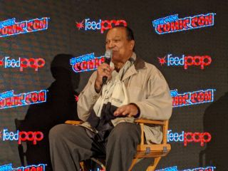 "Billy Dee Williams chats about everything from ""Star Wars"" to Mars at New York Comic Con on Oct. 4, 2019."