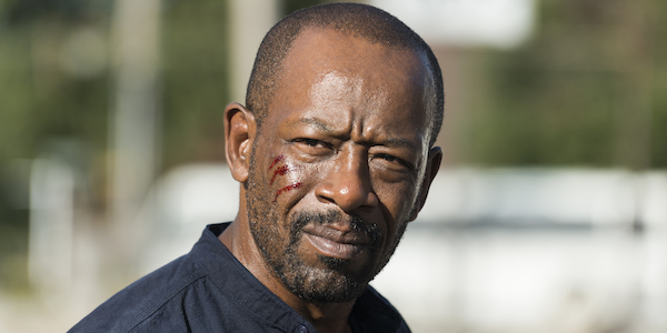 morgan walking dead bloody face