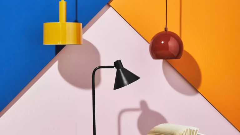 Debenhams lighting sale: Debenhams - Yellow 'Ted' Pendant Ceiling Light
