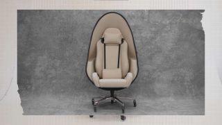 Alienware's Bodega collaboration egg chair design full front shot