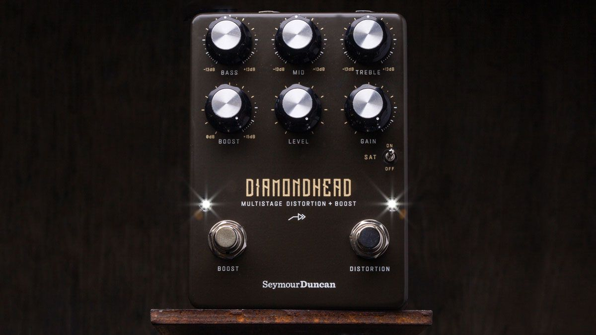 Seymour Duncan shoots for hot-rodded hard-rock and metal tones with the Diamondhead Multistage Distortion + Boost pedal - Guitar World