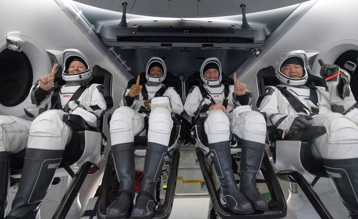 SpaceX's Crew-1 astronaut mission to the International Space Station in photos