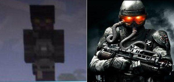 Minecraft Killzone Skin