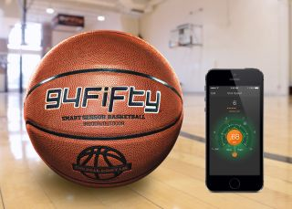 The 94Fifty basketball