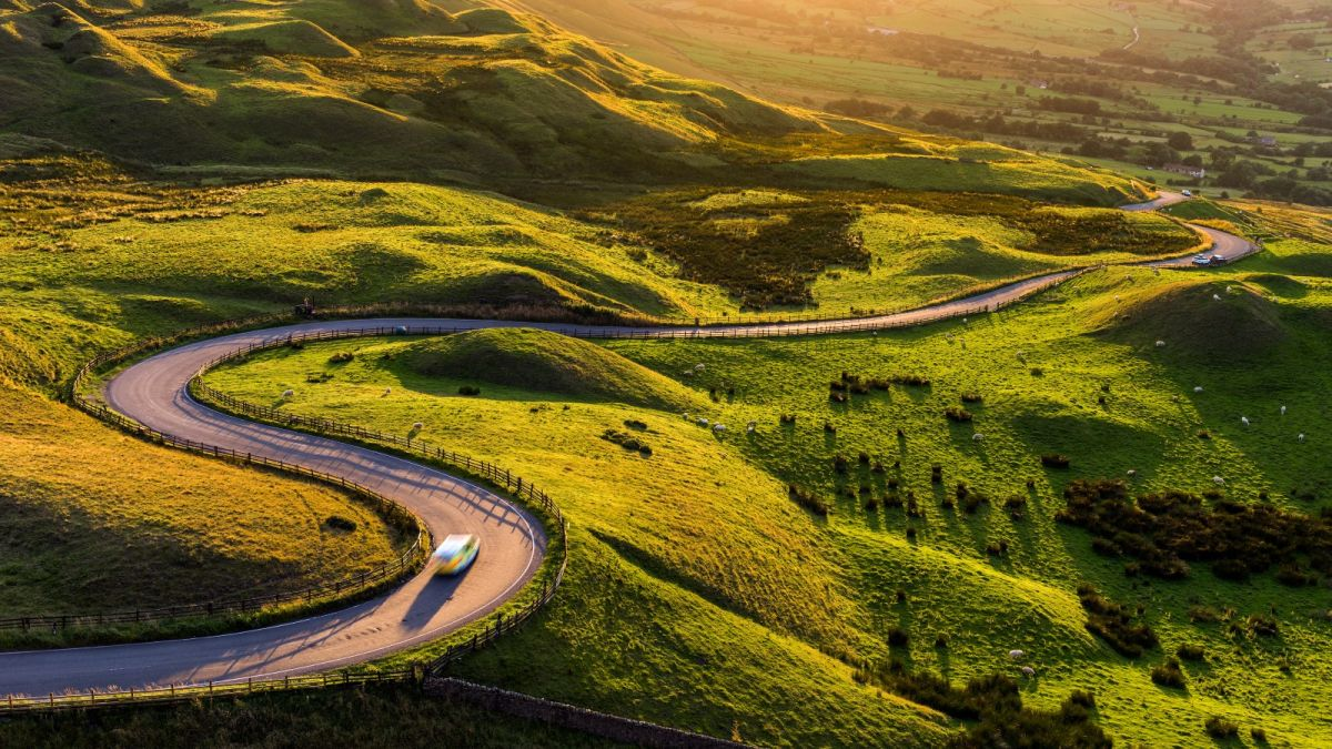 The UK's top scenic routes for the ultimate staycation have been unveiled