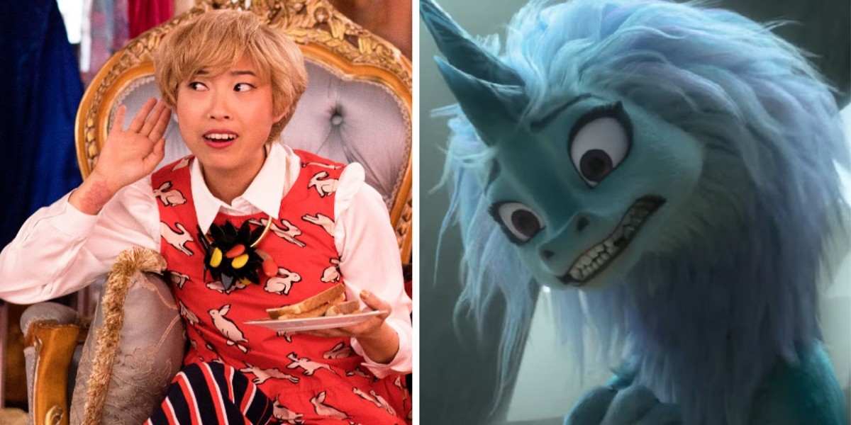 Awkwafina - Crazy Rich Asians/ Sisu in Raya and the Last Dragon