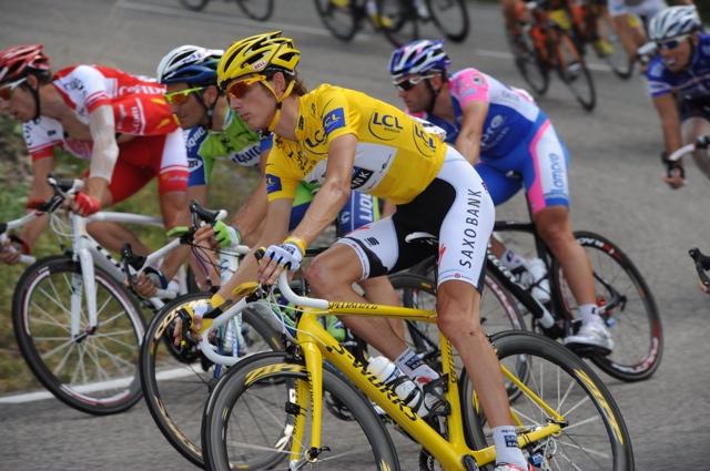 Andy Schleck, Tour de France 2010, stage 11