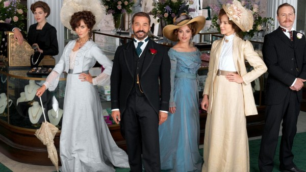 The cast of Mr Selfridge