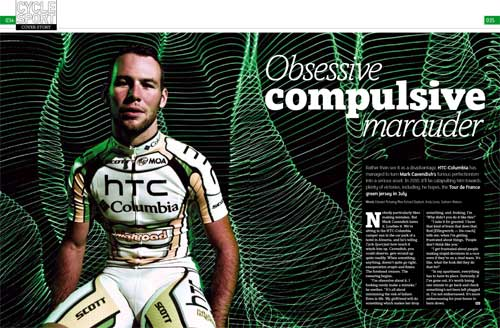 Cavendish, Cycle Sport May 2010 issue