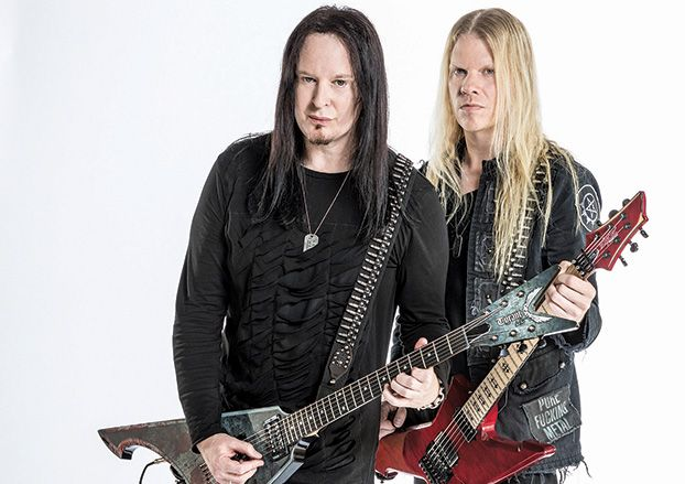 arch enemy 39 s michael amott and jeff loomis talk new album 39 will to power 39 guitarworld. Black Bedroom Furniture Sets. Home Design Ideas