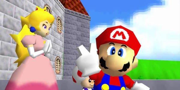 Mario and a Princess