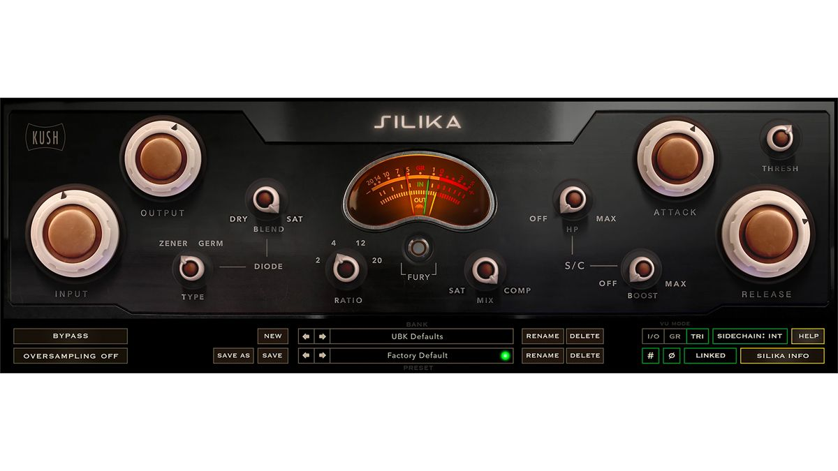 """Kush Audio says that its new Silika compressor plugin is """"sonically identical"""" to analogue hardware"""