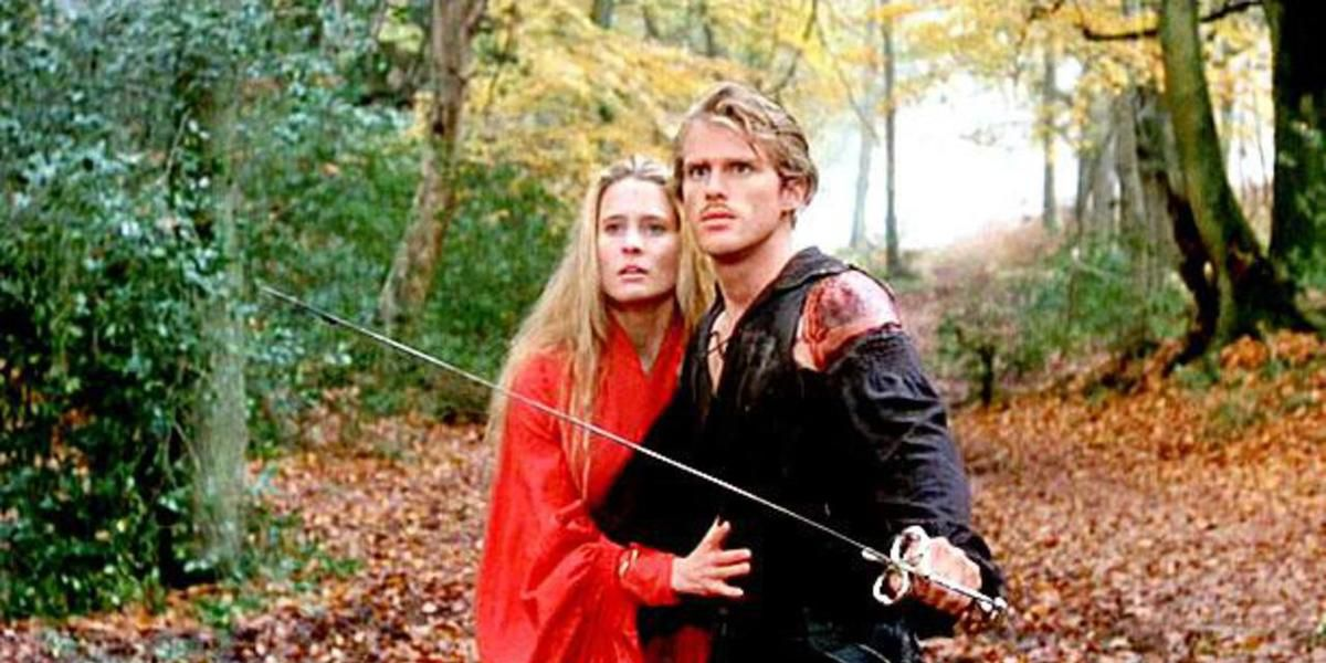 The two main characters of The Princess Bride.