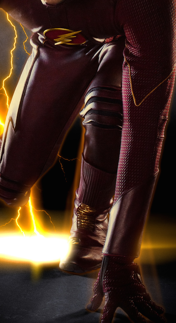 See Barry Allen's Full Flash Costume For The Arrow Spinoff  #30822