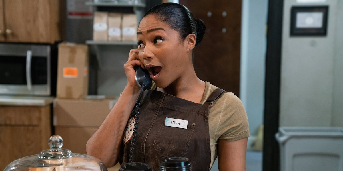 Tiffany Haddish Got Her Own Catchphrase Shaved Onto Her Head