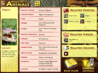 Multimedia Encyclopedia of Animals Excels as Learning Tool