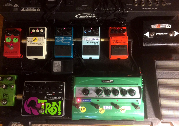 pedalboard wiring ideas and organization: how to hide the mess | guitarworld
