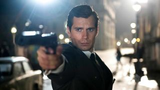 Henry Cavill in The Man from UNCLE