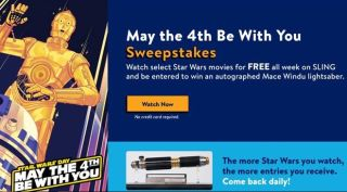Sling is letting customers stream 'Star Wars' movies on demand for free all week - here's how to watch