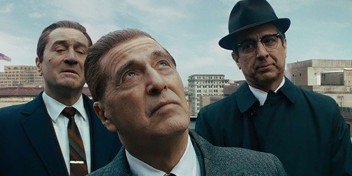 Al Pacino, Robert De Niro and Ray Romano in the Irishman